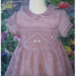smocked dress girl